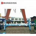 I type Semi Automatic Container Spreader lifting  3
