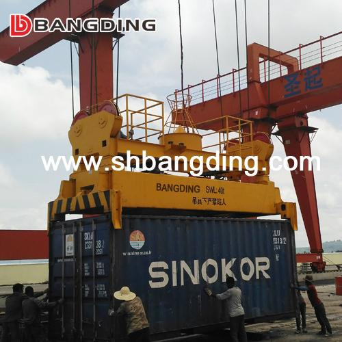 I type Semi Automatic Container Spreader lifting  5
