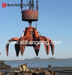 BANGDING orange peel grab bucket hydraulic for bulk cargo ship