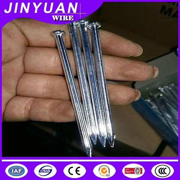 concrete straight grooved shank type steel cement nail good quality 1