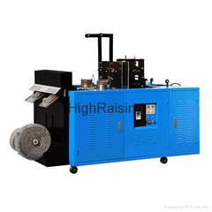 Two heads JX-W2 mesh scourer making machine