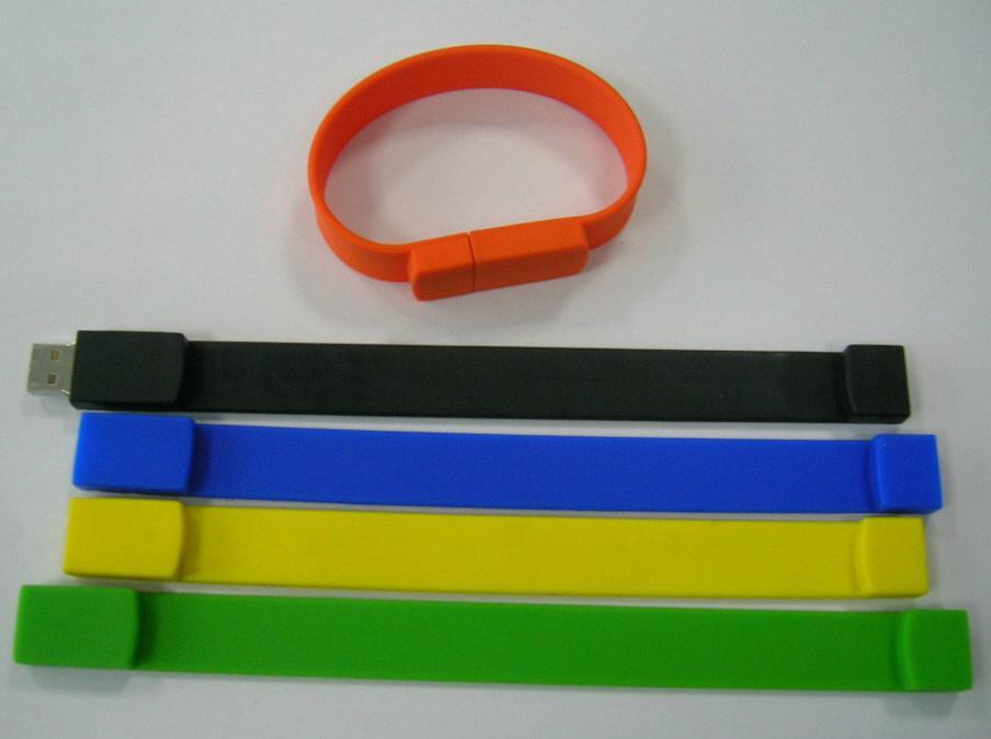 bracelet usb flash drive 4gb 8gb 16gb 32gb 64gb with customized logo print 1