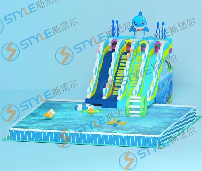 厂家大型游泳池 2