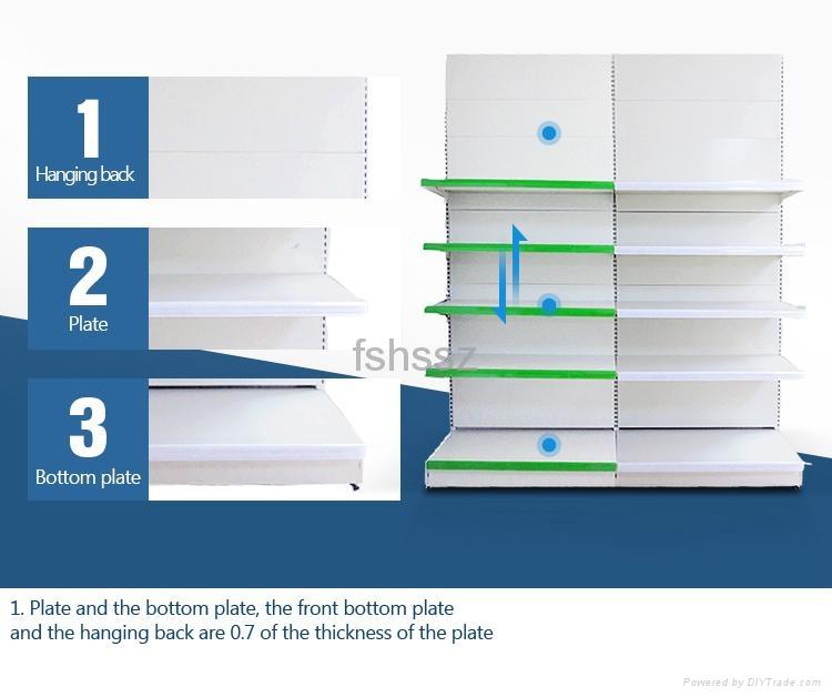 Freestanding Supermarket Display Shelf  5