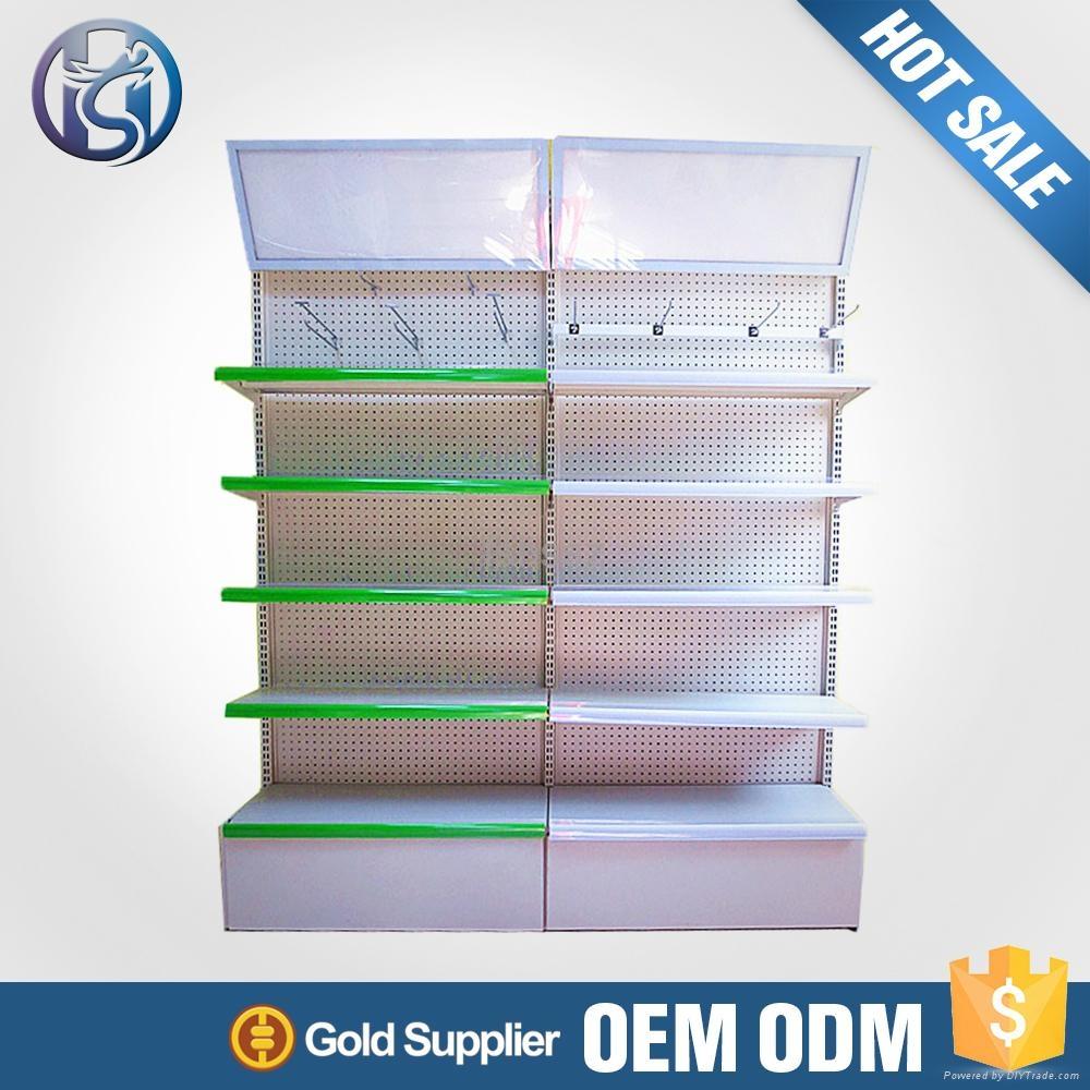 Freestanding Supermarket Display Shelf  4