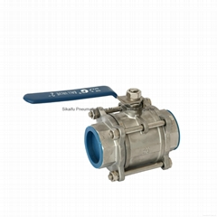 Stainless Steel Ball Valve Fit for Water Pipes