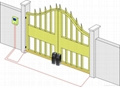Good quality 24V gate openers automatic swing gate opener 3