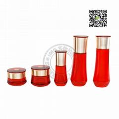 Xinya Cosmetics packing glass bottle jar tube bottle plastic packing OEM ODM