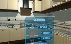 时空门VR厨房火灾演练,VR消防,VR地震,VR火灾逃生,VR科普