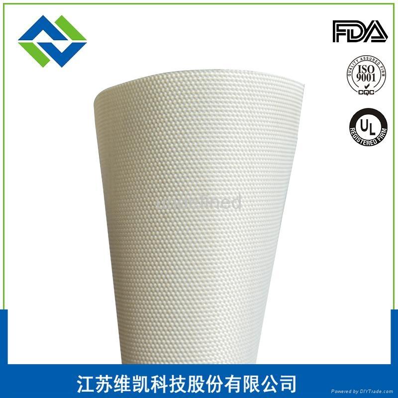 维凯长期供应PVC地板脱模布 1