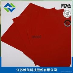 维凯专业生产玻纤硅胶布