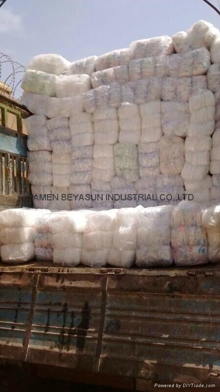 B grade high quality Disposable adult diaper  3