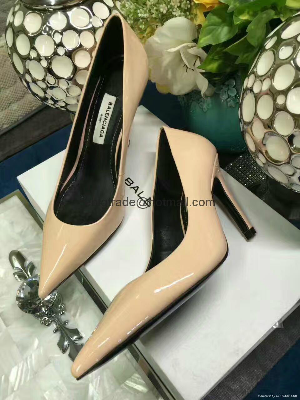 Balenciaga leather shoes