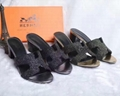 Cheap Hermes Leather shoes Hermes sandals replica hermes shoes on sale