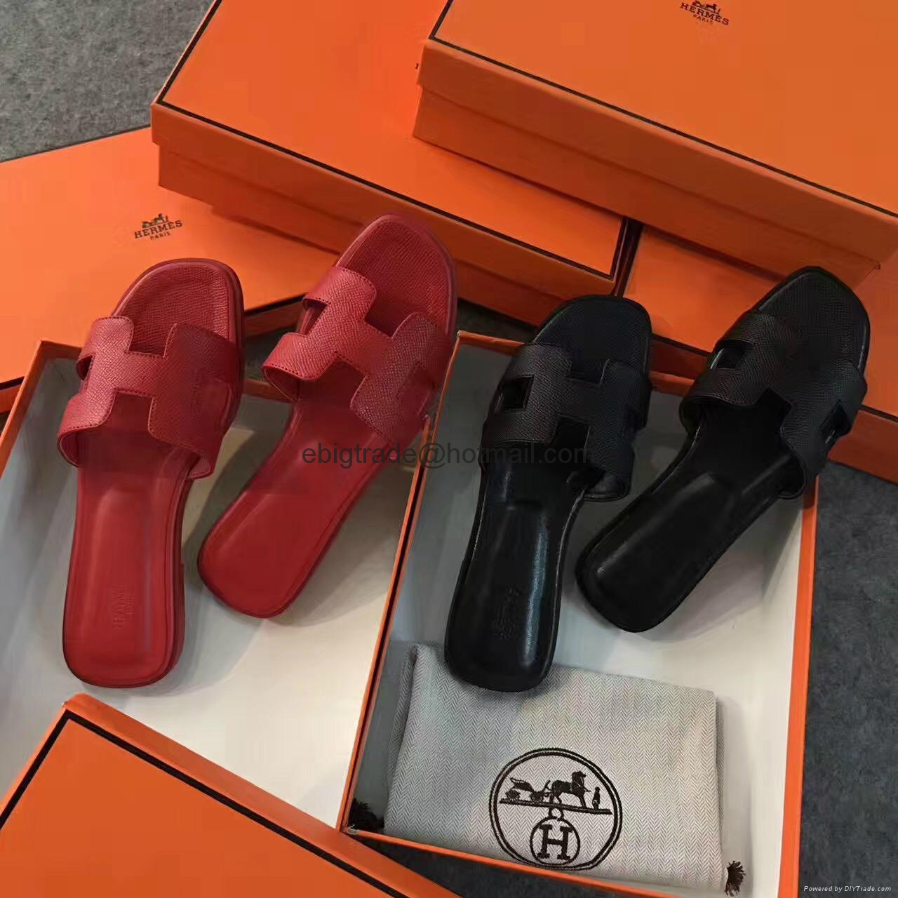 ed21d5c0449 Cheap Hermes Leather shoes Hermes sandals replica hermes shoes on ...