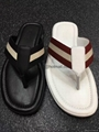 Cheap Bally Sandals for men Bally  Flip Flop Leather Sandal Bally Slippers men