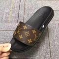 Cheap LOUIS VUITTON men's Sandals LV slippers LV sandals LV FLIP FLOPS ON SALE  5