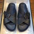 Cheap LOUIS VUITTON men's Sandals LV slippers LV sandals LV FLIP FLOPS ON SALE  12
