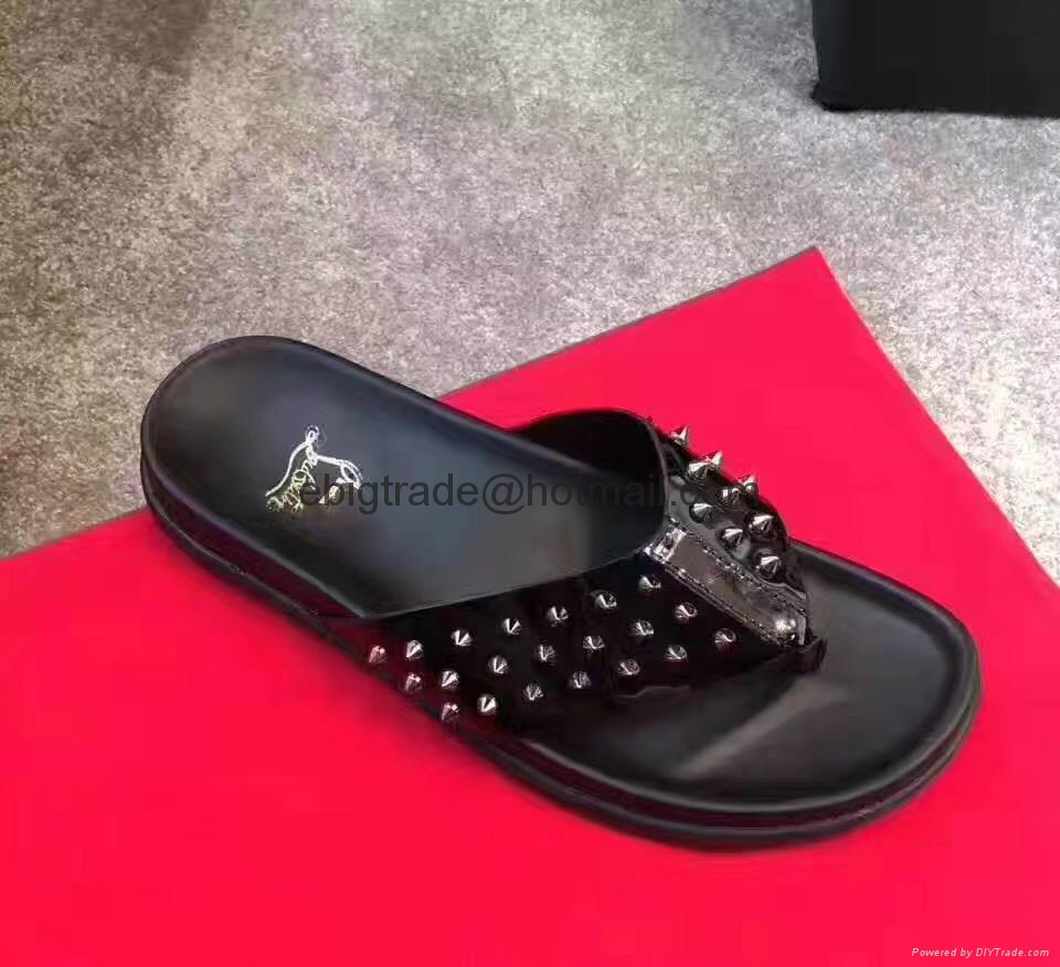 new high quality latest retail prices Cheap Christian Louboutin sandals for men Christian Louboutin Flop ...