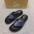 Cheap Christian Louboutin sandals for men Christian Louboutin Flop Flips slippes 9