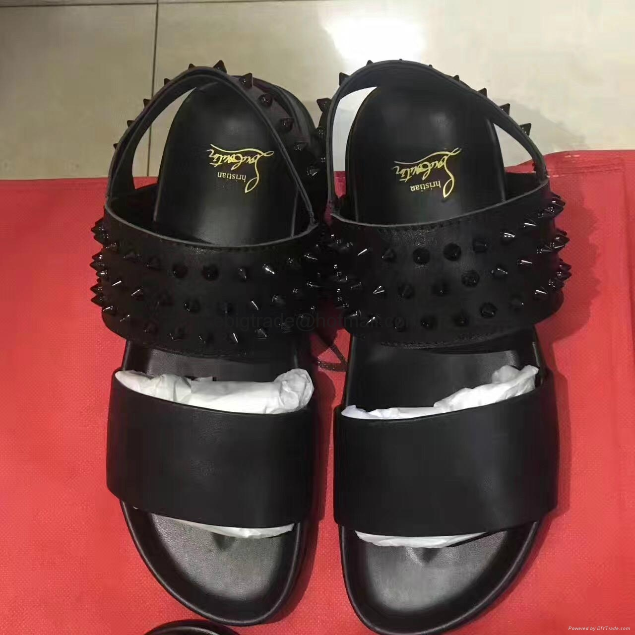 Cheap Christian Louboutin sandals for men Christian Louboutin Flop Flips slippes 10