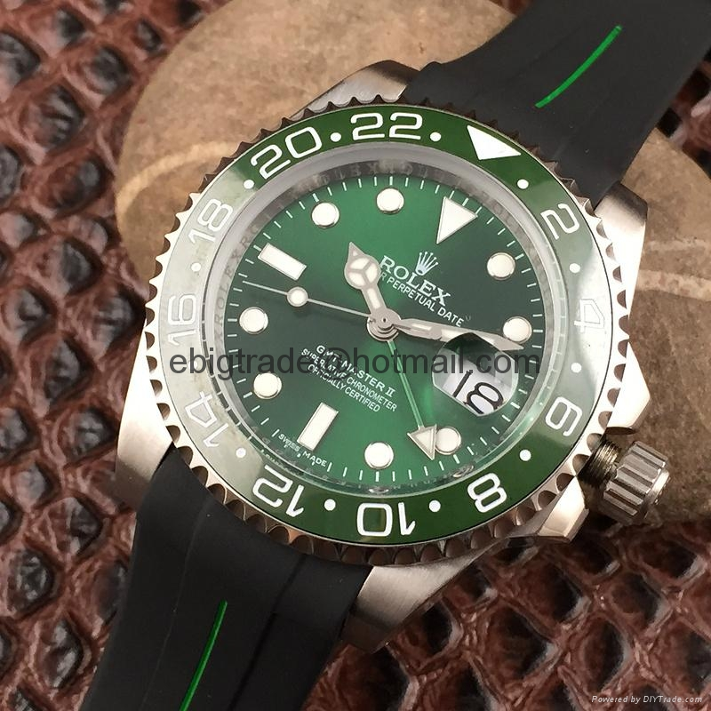 Rolex GMT Master II 16710 Stainless Steel Watch
