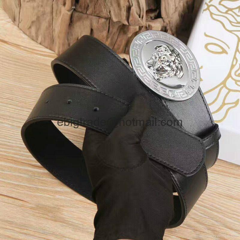 Versace belts for men