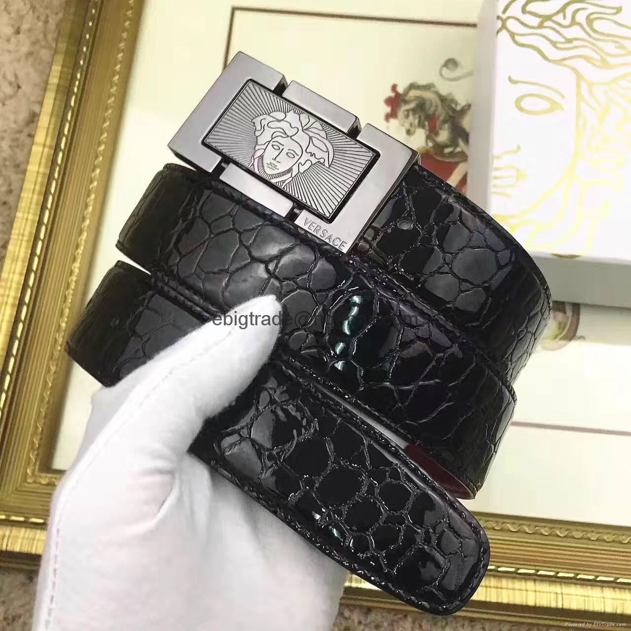 Versace men's belts