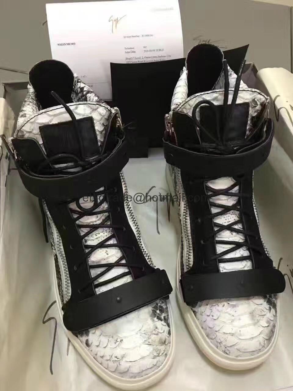 ladies Giuseppe Zanotti sneakers