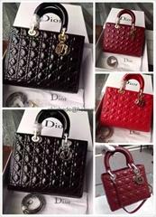 Cheap Christian Dior Lady Dior leather bags Dior handbags Cheap dior bags 2017