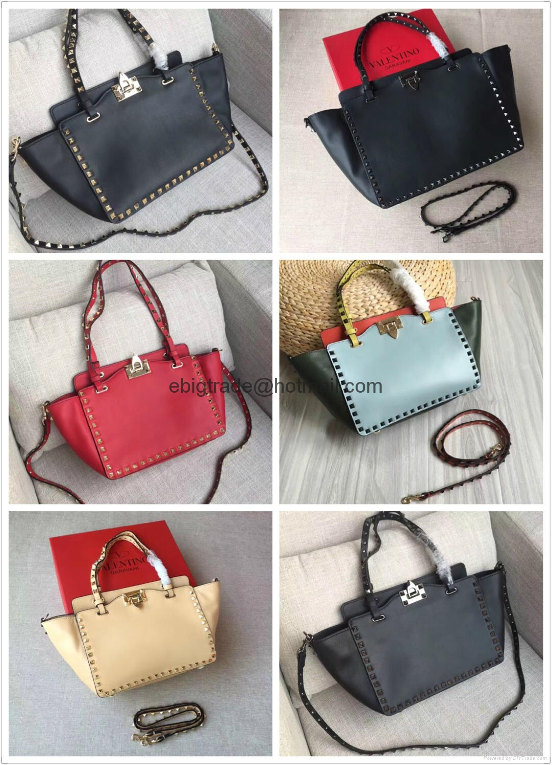 Cheap Valentino Rockstud Leather Bags Valentino handbags Valentino bags purse