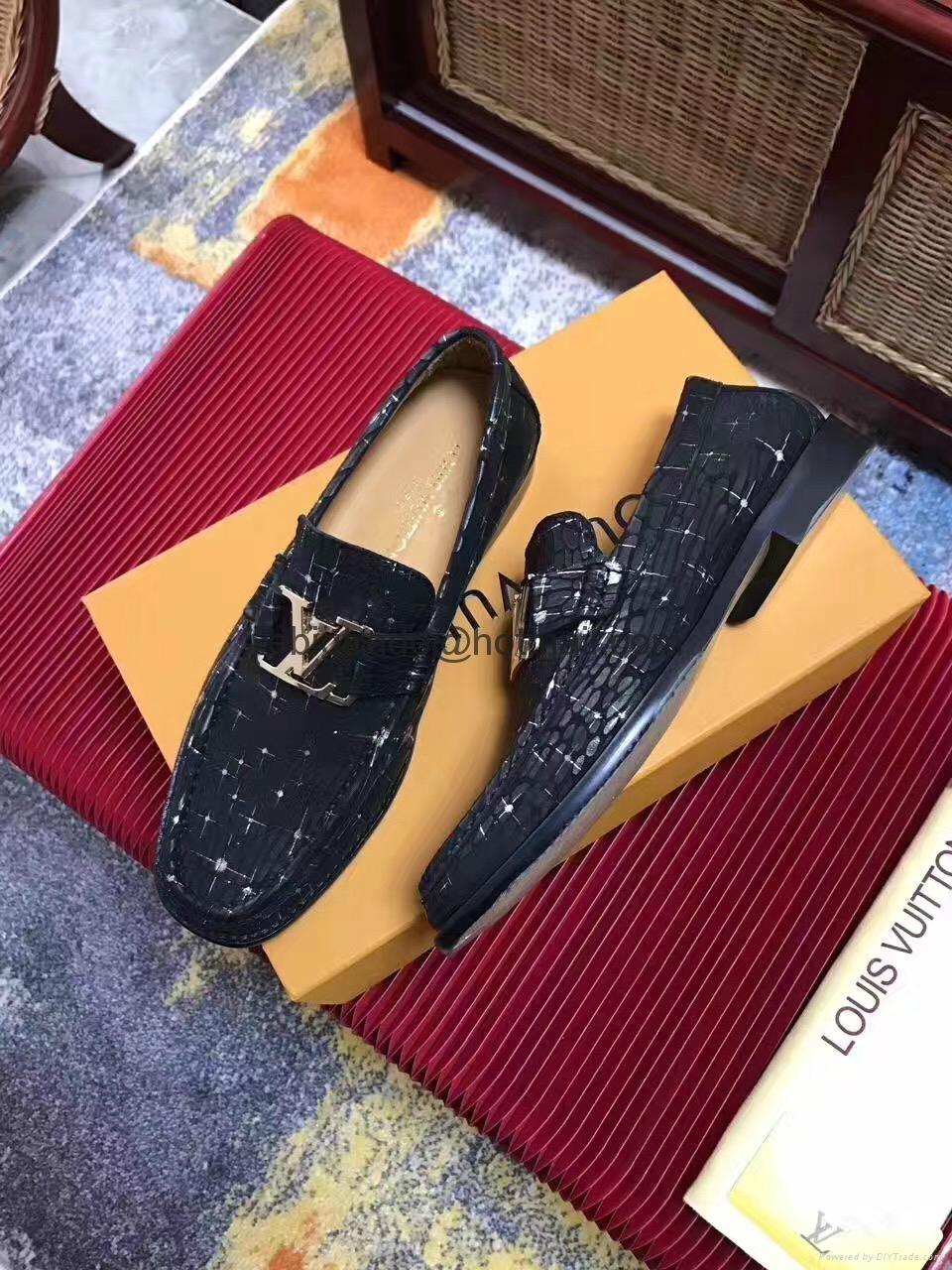 Louis Vuitton leather shoes