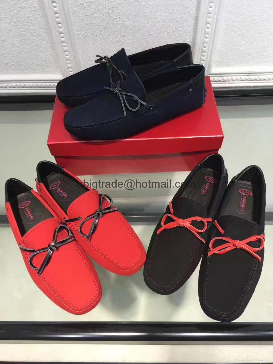 TOD'S Driving shoes for men