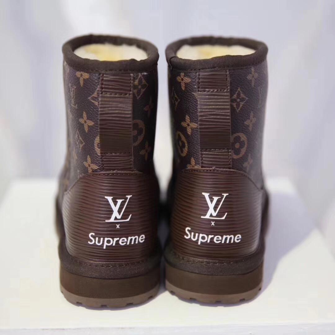 Louis Vuitton Supreme Ugg Boots - Just Me And Supreme