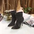 CHEAP Casadei Skyhigh Platform Boots casadei boots Suede casadei Leather boots