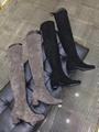 Stuart Weitzman Suede Knee High Boots
