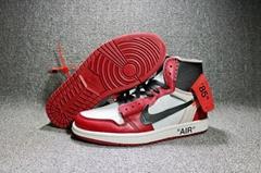 Nike Air Jordan 1 x Off White AJ1 shoes