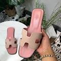 Hermes Sandals Hermes Slippers Hermes Oran H Sandals Slippers Hermes leather