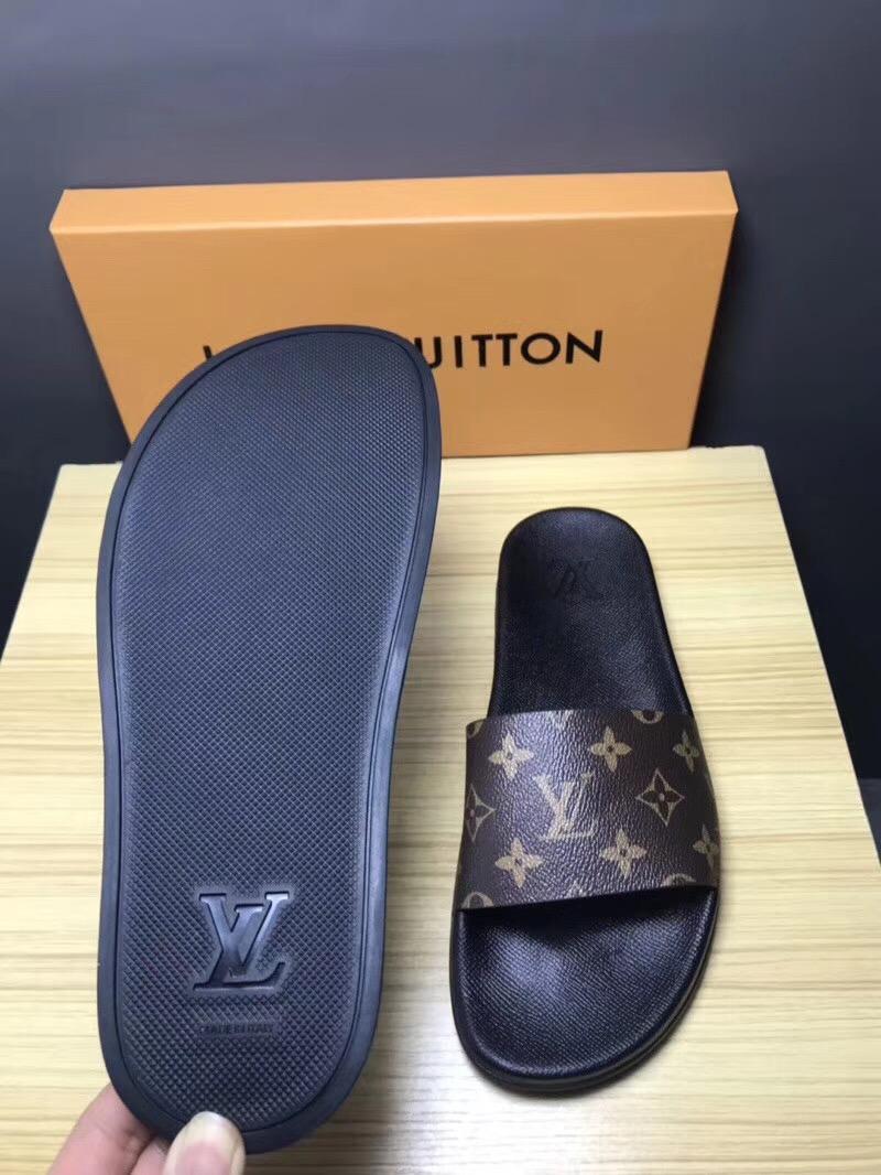 Cheap LOUIS VUITTON men's Sandals LV slippers LV sandals LV FLIP FLOPS ON SALE  16