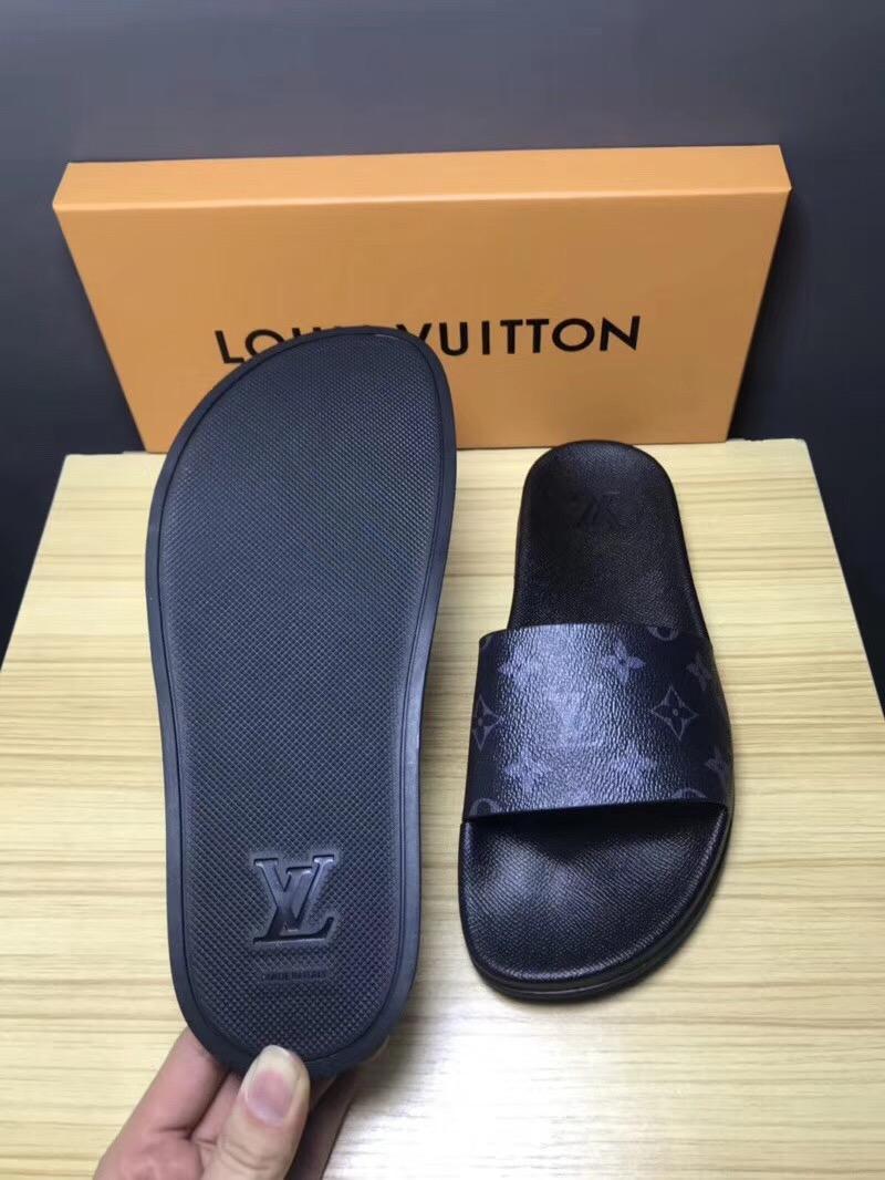 Cheap LOUIS VUITTON men's Sandals LV slippers LV sandals LV FLIP FLOPS ON SALE  18