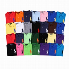 Polo Ralph Lauren Mens Custom Fit Short Sleeve Polo T Shirts for Men
