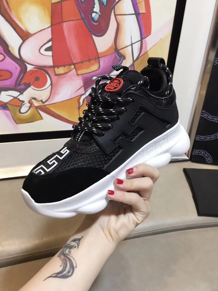 versace shoes chain reaction