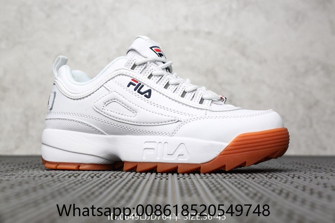 Ii 2 Color Disruptor 2019 Fila Shoes Unisex Multi New Authentic rCoexdB