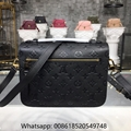 Louis Vuitton POCHETTE METIS Monogram Empreinte Leather Bags LV Bags leather
