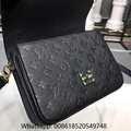 Louis Vuitton POCHETTE METIS Monogram Empreinte Leather Bags LV Bags leather