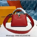 Louis Vuitton Capucines MM Louis Vuitton Capucines BB Leather bags LV handbags