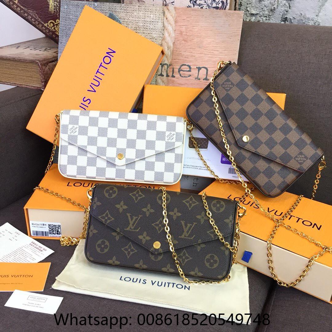 Cheap Louis Vuitton Damier Azur Canvas handbags LV leather Goods LV Small bags