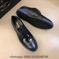 Mens Prada leather shoes discount Prada