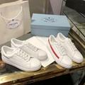 discount Prada leather Sneakers Prada sneakers leather Prada shoes women Prada