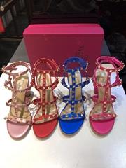 Valentino Rockstud Ankle Strap Sandal 90 mm Cheap Valentino shoes women